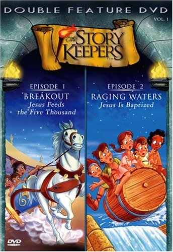 Story Keepers: Episodes 1 & 2: Breakout: Jesus Feeds The Five Thousand / Raging Waters: Jesus Is Baptized DVD Image