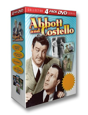 Abbott And Costello (GoodTimes Media/ 4-Pack) DVD Image