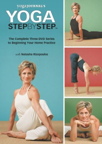 Yoga Journal: Yoga Step By Step, Session 1 - 3 (3-Pack) DVD Image