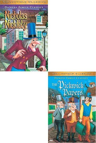 Nicholas Nickleby (UNK/ GoodTimes Media) / The Pickwick Papers DVD Image