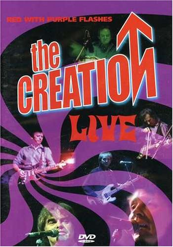 Creation: Red With Purple Flashes: The Creation Live (Music Video Distributors) DVD Image