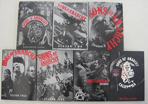 Sons Of Anarchy: The Complete Series (Season 1-7) Collectible Slip Cover Packaging DVD Image