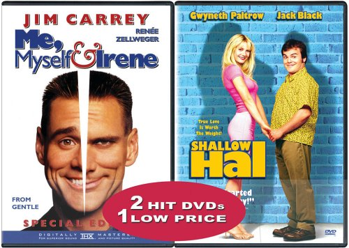 Shallow Hal (Special Edition) / Me, Myself And Irene (Special Edition) (Side-By-Side) DVD Image