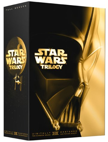 Star Wars Trilogy (Special Edition/ Pan & Scan): A New Hope / Empire Strikes Back / Return Of The Jedi DVD Image