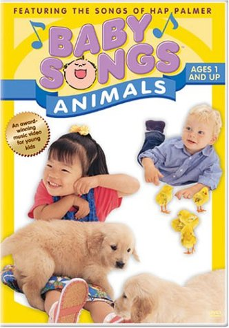 Baby Songs: Animals DVD Image