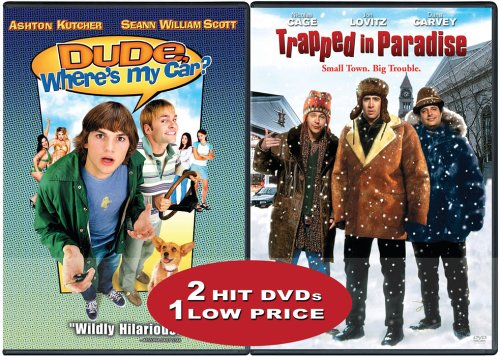 Dude, Where's My Car? (Special Edition) / Trapped In Paradise (Side-By-Side) DVD Image