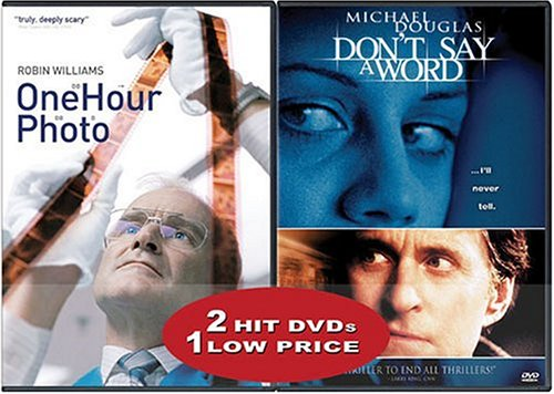 One Hour Photo (Special Edition/ Widescreen) / Don't Say A Word (Special Edition) (Side-By-Side) DVD Image