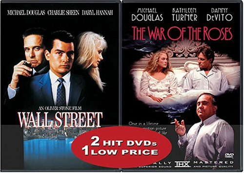 Wall Street (Special Edition) / War Of The Roses (Special Edition) (Back-To-Back) DVD Image