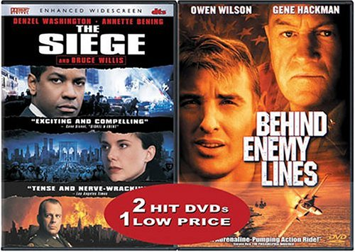 Siege (Anamorphic DTS Version) / Behind Enemy Lines (Special Edition) (Back-To-Back) DVD Image