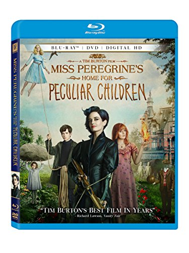 Miss Peregrine's Home for Peculiar Children DVD Image