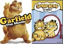 Garfield: The Movie (Widescreen) / Garfield As Himself (Back-To-Back) DVD Image