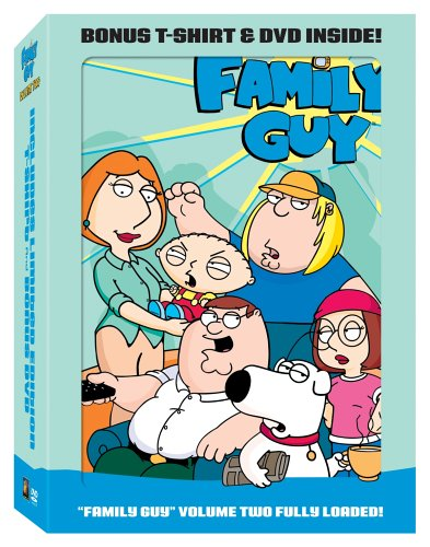 Family Guy, Vol. 2: Season 3 (Special Edition/ w/ T-Shirt) DVD Image