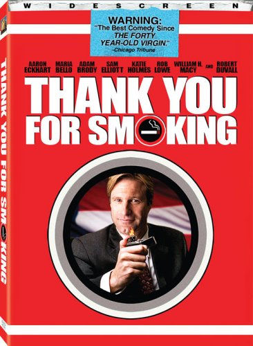 Thank You For Smoking (Widescreen) DVD Image