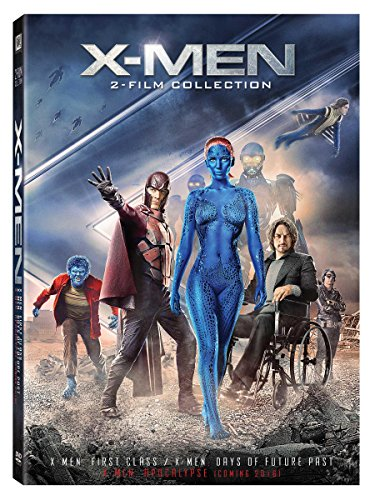 X-men: First Class / Days of Future Past Double Feature Icons DVD Image