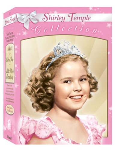 Shirley Temple: America's Sweetheart Collection, Vol. 1: Curly Top / Heidi / Little Miss Broadway DVD Image