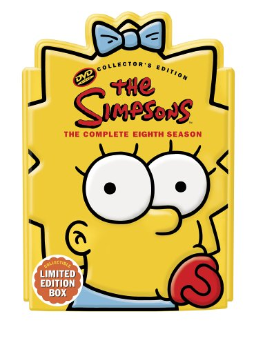 Simpsons: The Complete 8th Season (Special Edition/ Maggie Head Packaging) DVD Image