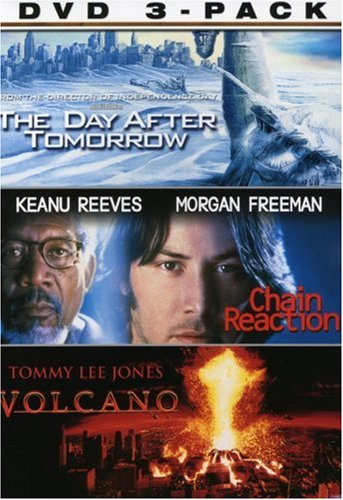 Elements 3-Pack: Chain Reaction (1996) / The Day After Tomorrow / Volcano DVD Image