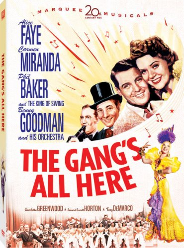 Gang's All Here (1943) DVD Image