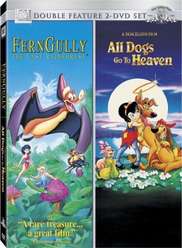FernGully: The Last Rainforest (Family Fun Edition) / All Dogs Go To Heaven (Double Feature) DVD Image