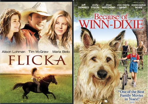 Flicka / Because of Winn-Dixie DVD Image