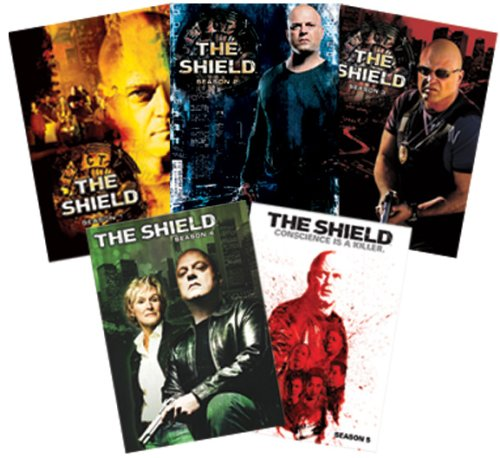 Shield (Fox): The Complete 1st - 5th Seasons DVD Image