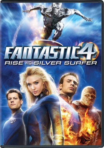 Fantastic Four 2: Rise Of The Silver Surfer DVD Image