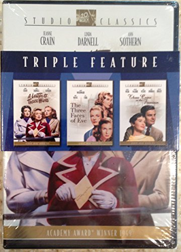 Studio Classics Triple Feature (A Letter to Three Wives, the Three Faces of Eve, and Three Coins in the Fountain) DVD Image