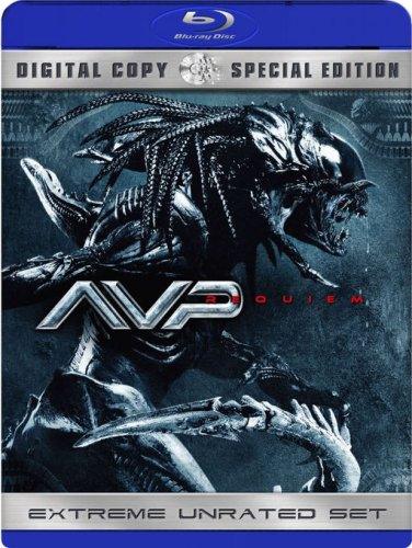 AVPR: Alien Vs. Predator: Requiem (R-Rated Version/ Blu-ray) DVD Image