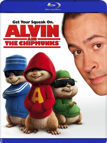 Alvin And The Chipmunks (Fox/ Blu-ray) DVD Image