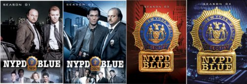NYPD Blue - Seasons 1-4 DVD Image