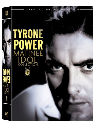 Tyrone Power Matinee Idol Collection (Cafe Metropole/Girls Dormitory/Johnny Apollo/Daytime Wife/Luck of the Irish/Ill Never Forget You/That Wonderful Urge/Love Is News/This Above All/Second Honeymoon) DVD Image