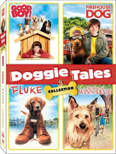 Doggie Tales Collection: Good Boy! (Special Edition) / Firehouse Dog / Fluke / Because Of Winn-Dixie DVD Image