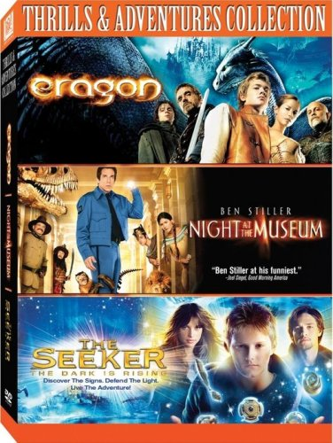 Thrills & Adventure Collection: Eragon (Widescreen) / Night At The Museum / The Seeker (2007) DVD Image