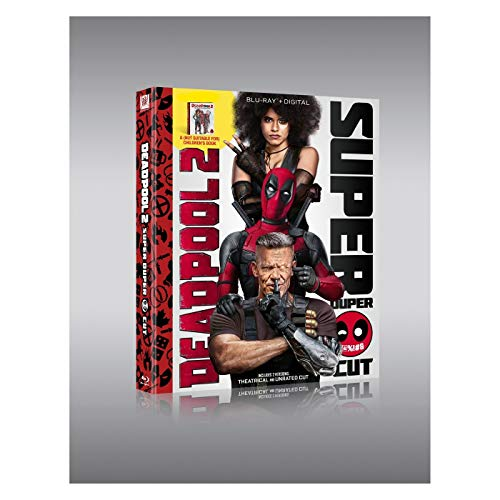Deadpool 2 Limited Edition (Blu-Ray+Digital) with A (Not Suitable for) Children''s Book DVD Image