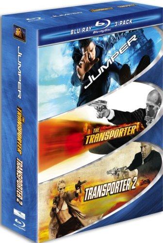 Action 3 Pack (Blu-ray): The Transporter / The Transporter 2 / Jumper DVD Image