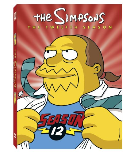 Simpsons: The Complete 12th Season DVD Image