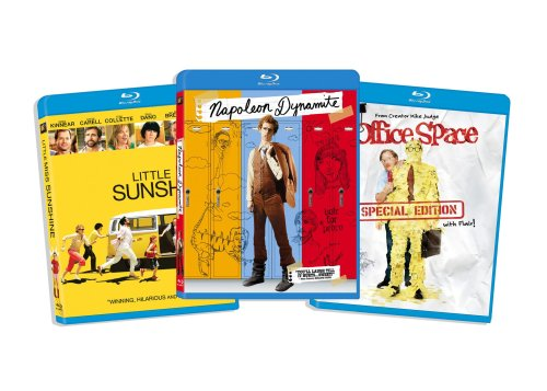 Blu-ray Comedy Bundle, Vol. 4 (Little Miss Sunshine / Napoleon Dynamite / Office Space ) (Amazon.com Exclusive) [Blu-ray] DVD Image