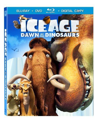 Ice Age: Dawn of the Dinosaurs (DVD + Digital Copy) [Blu-ray] DVD Image