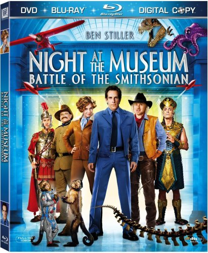 Night at the Museum: Battle of the Smithsonian (Three-Disc Edition + Digital Copy + DVD) [Blu-ray] DVD Image