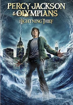 Percy Jackson & The Olympians: The Lightning Thief DVD Image