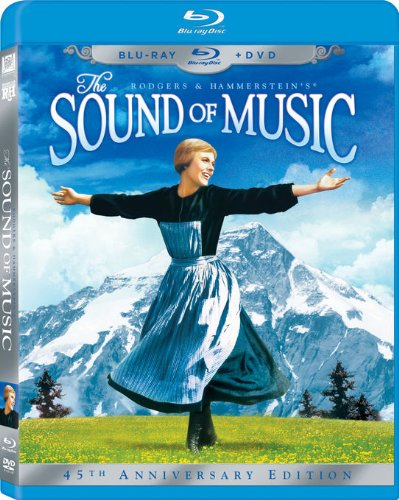 The Sound of Music (45th Anniversary Edition) (Two-Disc Blu-ray/DVD Combo in Blu-ray Packaging) DVD Image