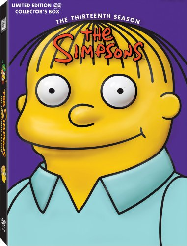 Simpsons S13 (Fs) DVD Image