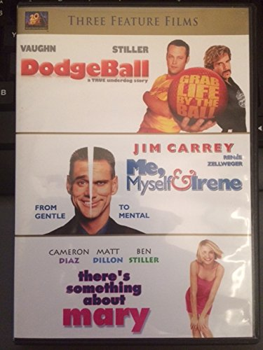 Dodgeball; Me, Myself & Irene; There's Something About Mary DVD Image