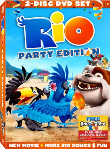 Rio: Two Disc Party Edition DVD Image