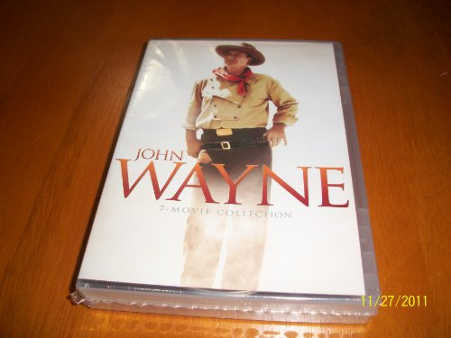John Wayne 7 Movie Collection (The Alamo, The Big Trail, The Comancheros, The Horse Soldiers, Legend of the Lost, North to Alaska & The Undefeated). DVD Image