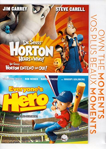 Dr Seuss Horton: Hears A Who! / Everyone's Hero (Own the Moments Feature) DVD Image