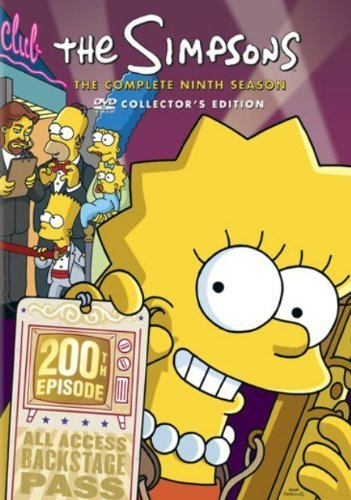 The Simpsons: The Complete Ninth Season DVD Image