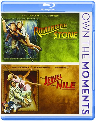 Romancing the Stone / The Jewel of the Nile Double Feature Blu-ray DVD Image