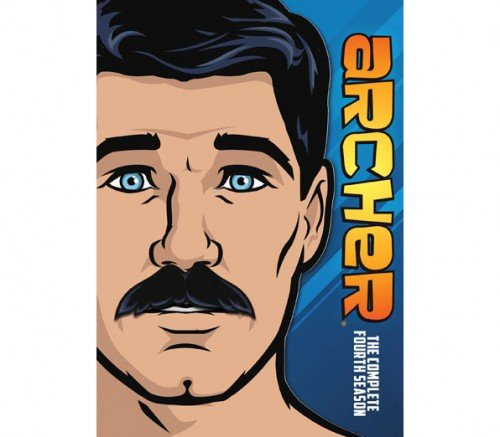 Archer: The Complete Season Four [Blu-ray] DVD Image