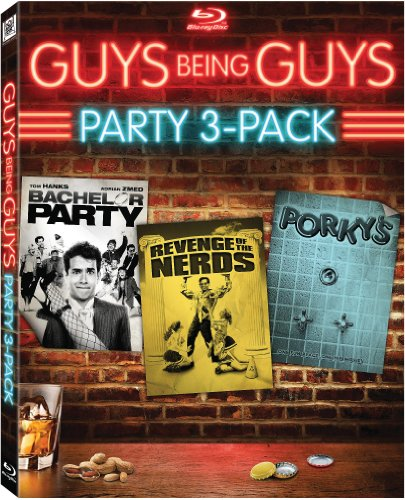 Guys Being Guys Party 3-Pack (Bachelor Party / Revenge of the Nerds / Porky's) [Blu-ray] DVD Image